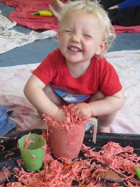 messy babies, messy toddlers