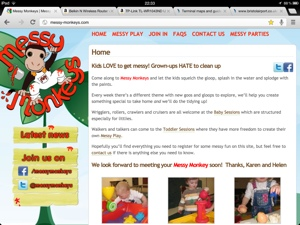 Messy Monkeys Old Web Site