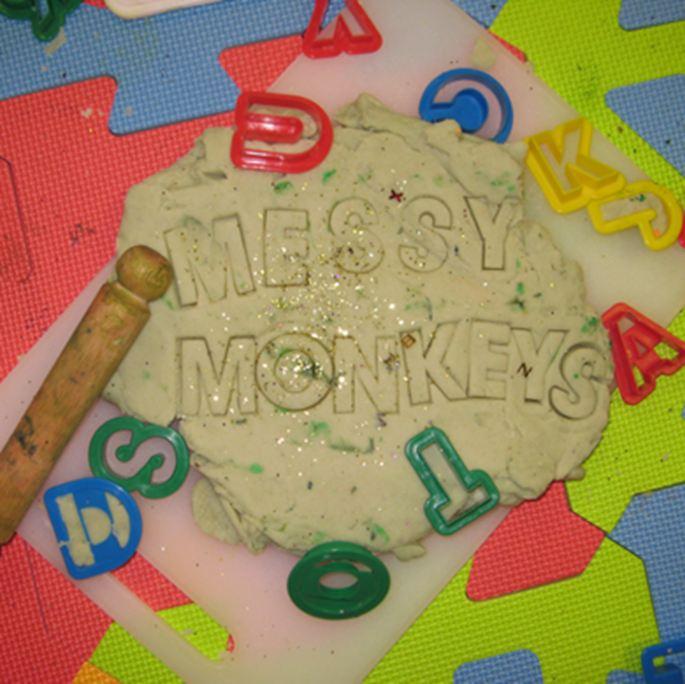Messy Monkeys Play Dough